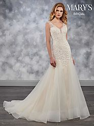 Bridal Wedding Dresses | Style - MB3032 in Ivory/Champagne, Ivory, or White Color