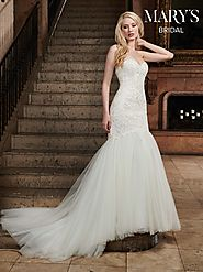 Bridal Wedding Dresses | Style - MB3029 in Ivory or White Color