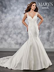Bridal Wedding Dresses | Style - MB3033 in Ivory or White Color