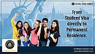 From Student Visa directly to Permanent Residence.