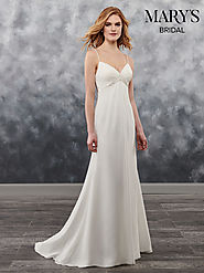 Bridal Wedding Dresses | Style - MB1017 in Ivory or White Color