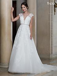 Bridal Wedding Dresses | Style - MB3013 in Ivory or White Color