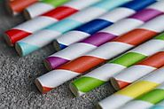 Buy Coloured Paper Straws in Bulk | Go Pepara