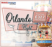 Call 0207-112-8313 for Cheap Flights Tickets to Orlando from London Uk