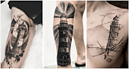 45+ Amazing Lighthouse Tattoo Ideas