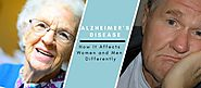Alzheimer's Disease: How It Affects Women and Men Differently