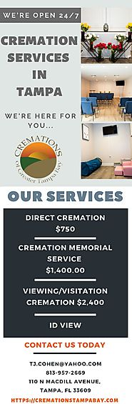 Cremation Services in Tampa