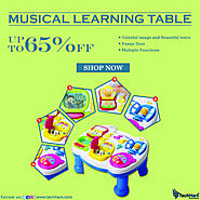 Techhark Musical Learning Table Baby Toy for Toddlers