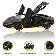 Techhark Imported Die-Cast Metal Toy Lamborghini Car for Kids