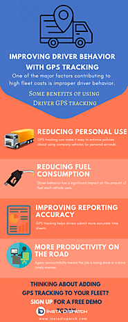 Improving driver behavior with GPS tracking - InstaDispatch