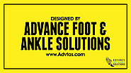 designed by Advance Foot & Ankle Solutions www.Advfas.com