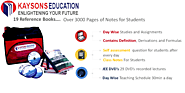 JEE MAIN 2020 STUDY MATERIAL - Kaysons Education