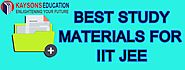 BEST STUDY MATERIAL FOR IIT JEE