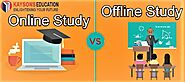 Difference Online Study vs Offline Study