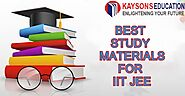 Best study materials for IIT JEE