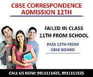 CBSE Correspondence Admission form Class 12th Date, Last Date Delhi