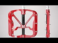 INBIKE Flat Bike Pedals 3D Video - MTB Flat Pedals for Sale
