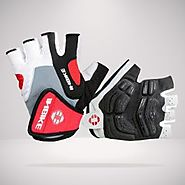 INBIKE Half Finger Cycling Gloves for Sale- Short Finger Bike Gloves