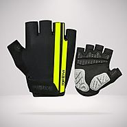 INBIKE Half Finger Cycling Gloves- Breathable Half Gloves for Bike