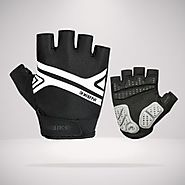 Short Finger Mountain Bike Gloves - MTB Half Finger Gloves - INBIKE