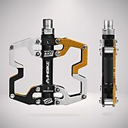 Mountain Bike Platform Pedals - Wide Bicycle Pedals - INBIKE