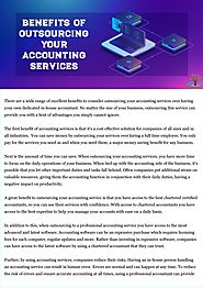 Benefits of Outsourcing Your Accounting Services by Mark Pereira - Issuu