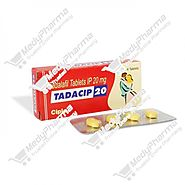 Website at https://www.medypharma.com/buy-tadacip-20-mg-online.html