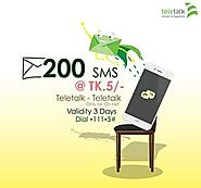 Teletalk SMS Pack 2019 Code, Price & Validity-Offernibo.com - Offer Nibo