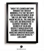 Lois Lowry Quote
