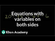 Variables on both sides Video