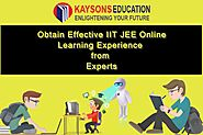 Obtain Effective IIT JEE Online Learning Experience from Experts