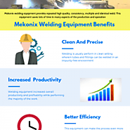 Advantages of Welding Equipment