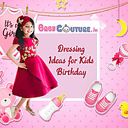 Kids Birthday Party Wear Dresses and Decoration Ideas