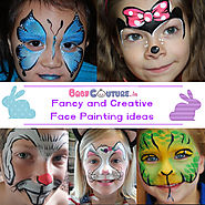14 Creative Face Painting ideas for Kids Fancy Dress Competition - Baby Couture India
