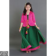 Buy Traditional Ethnic wear for Baby girl online at Babycouture