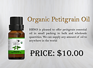Shop Now! 100% Pure Organic Petitgrain Oil Online at Best Price