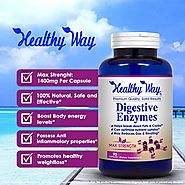 DIGESTIVE ENZYMES PROMOTES NATURAL, HEALTHY DIGESTION