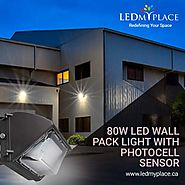 Buy 80W LED Wall Pack to replace your high wattage Fluorescent Light