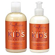 Shea Moisture Mango And Carrot Shampoo And Conditioner Set