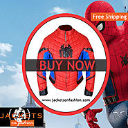 Spider Man Costume Homecoming Jacket