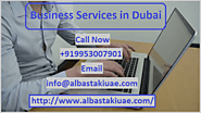 Start Your Business in Dubai without Any Trouble