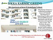 3Bhk Apartment at Sikkar Karmic Greens