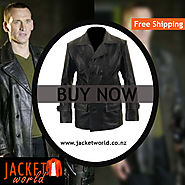 Dr. Who Leather Jacket
