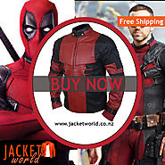 Dead Pool 2 Leather Jacket