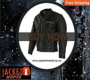 Biker Motorcycle Leather Jacket