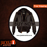 Brown Bomber Fur Avaitor Jacket