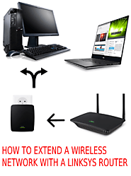 Accessing Linksys Wifi Extender | Extend Wifi Range | RouterSetup