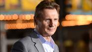 Animal rights activists protest against Liam Neeson