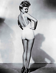 "Emily Carolus on Twitter: ""The start of pinup girls: Platinum blonde, Blue-eyed Hollywood Starlet, Betty Grable. Like..."