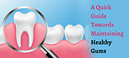 A Quick Guide Towards Maintaining Healthy Gums | Dental Sphere Pune